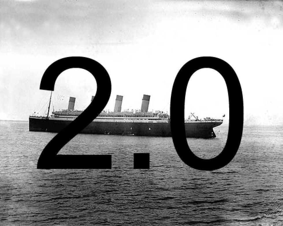 Kopia av Titanic försenas