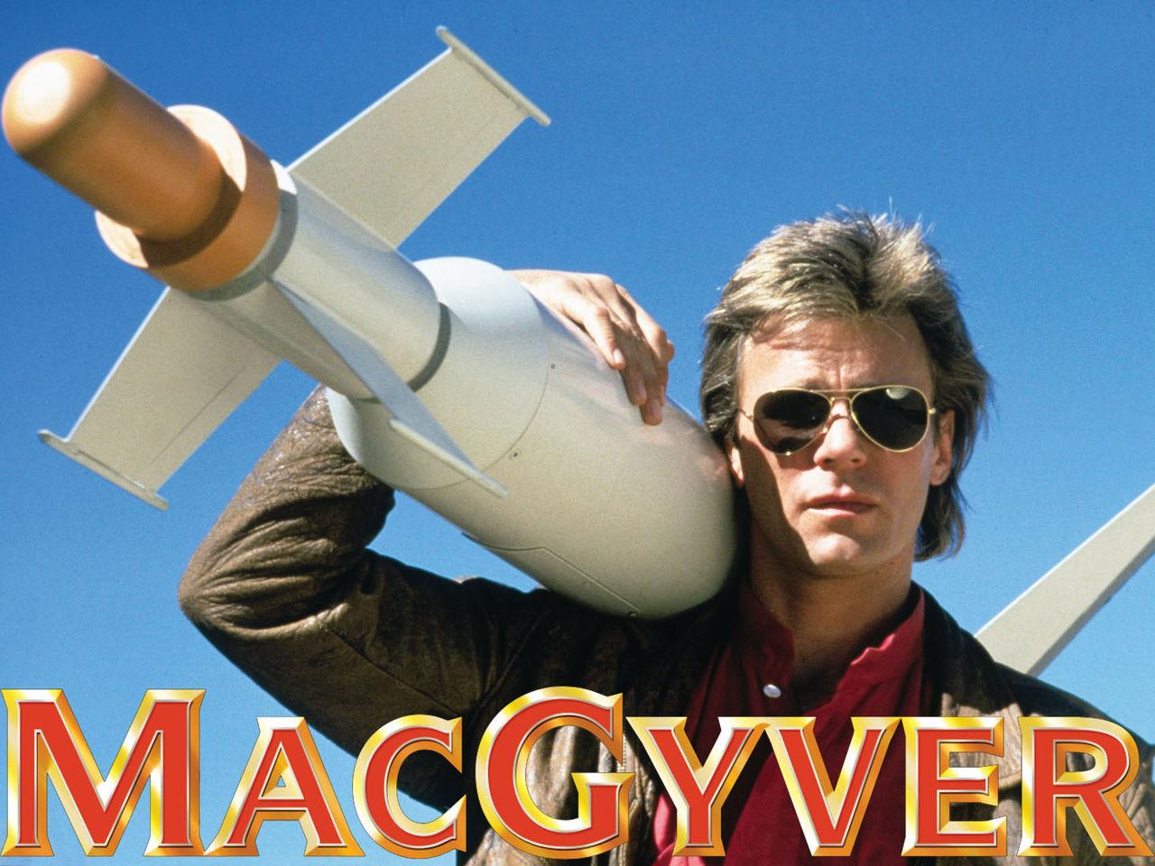 MacGyver är nu ett engelskt verb