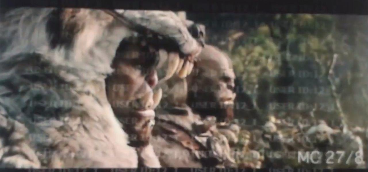 Läckt teaser för World of Warcraft-filmen