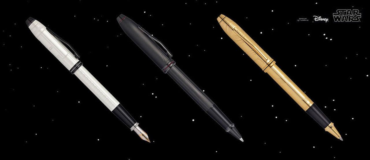 Eleganta Star Wars-pennor från Cross Townsend