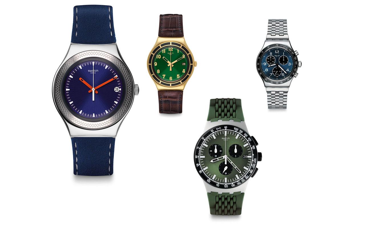 Nya klockor från Swatch