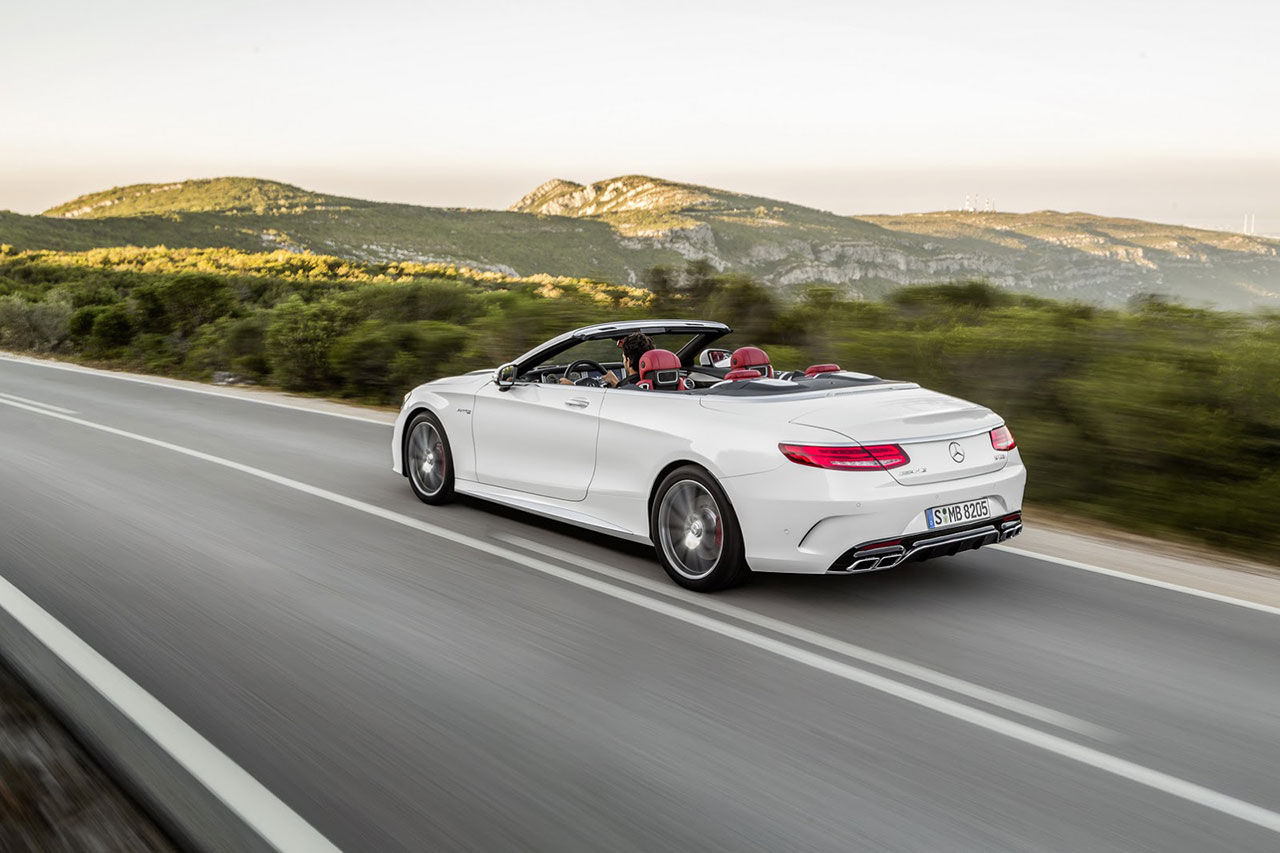 Mercedes presenterar den öppna versionen av S-Klass