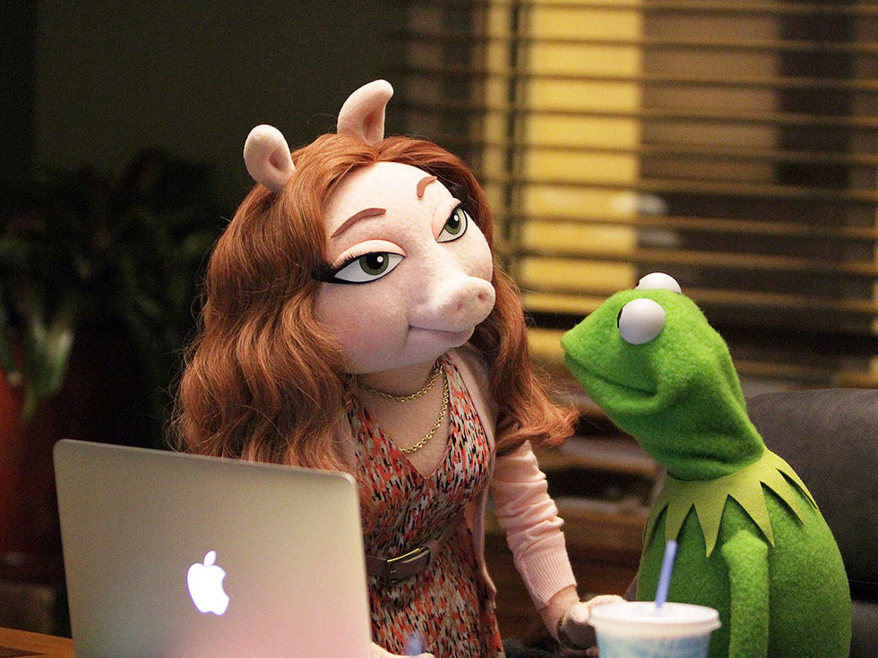 Kermit har skaffat sig en ny flickvän