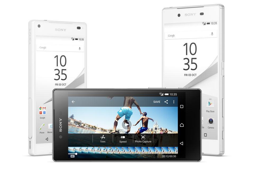 Sony presenterar Xperia Z5