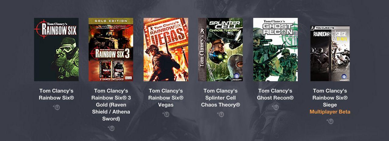 Humble Bundle med Tom Clancy-spel