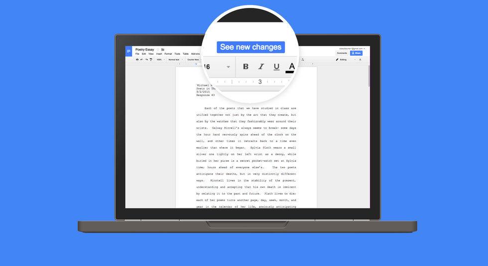 Nya Funktioner Till Google Docs Nu Kan Man Bland Annat Tala In Sitt - Google dokument