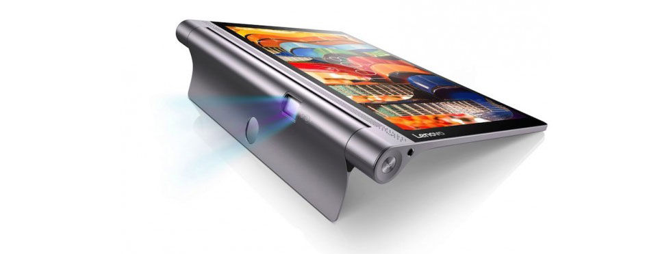 Lenovo presenterar Yoga Tab 3 Pro