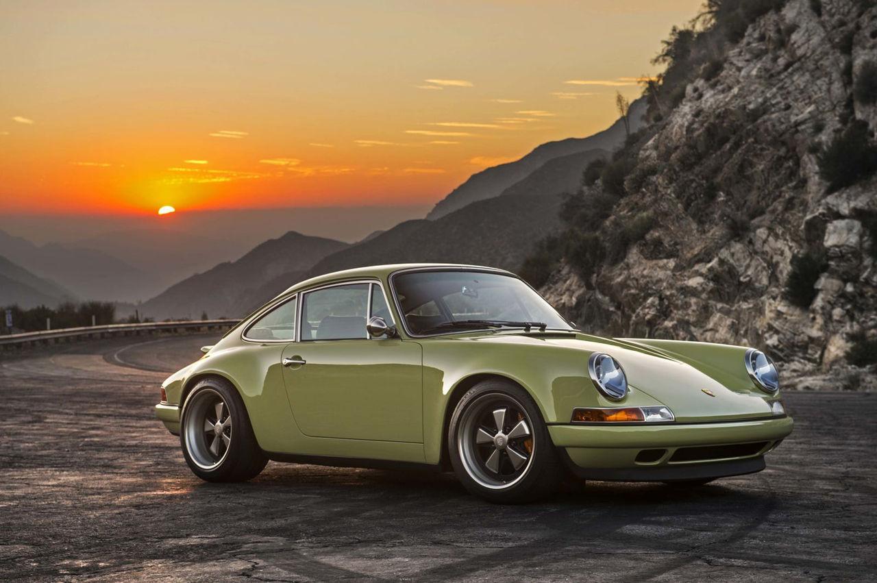 Singer visar upp en ny Porsche 911