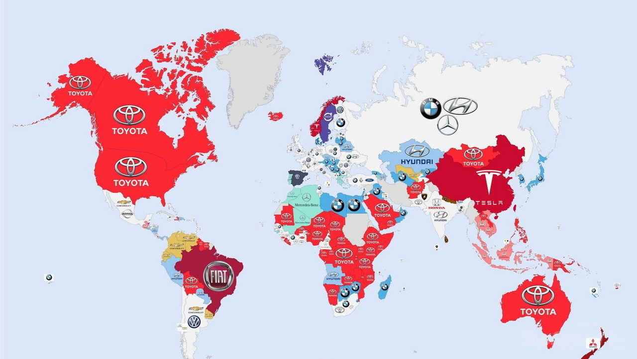 De här bilmärkena googlar vi mest