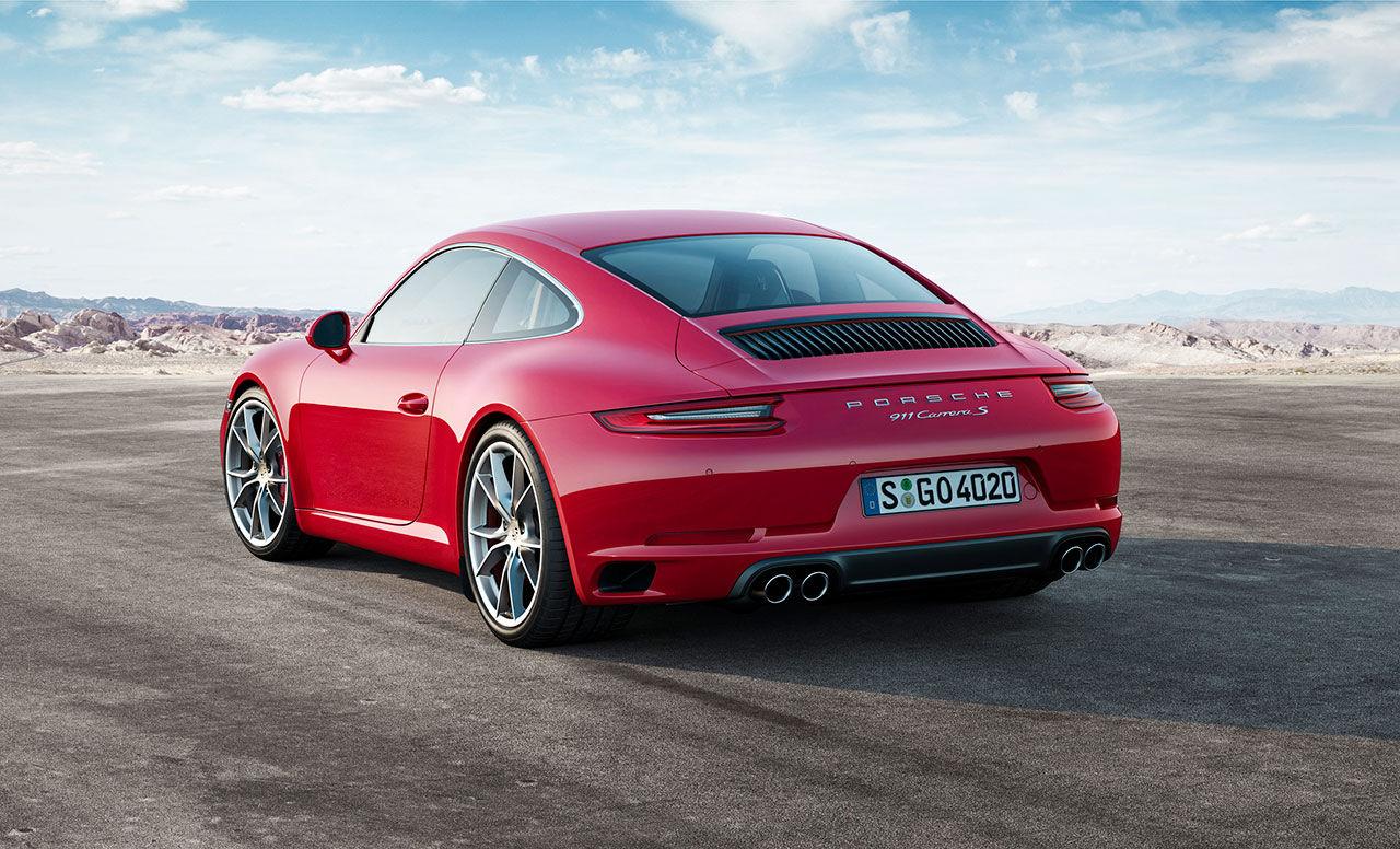 Porsche lyfter 911