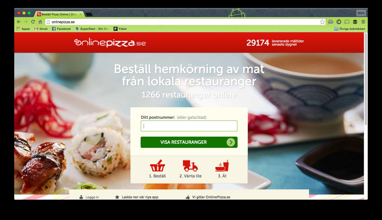 OnlinePizza.se utsatta för hackerattack