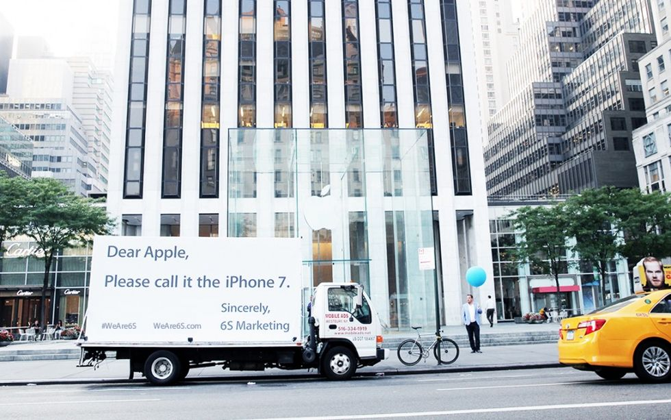 Reklambyrån 6S vill inte att Apples kommande lur ska heta 6S