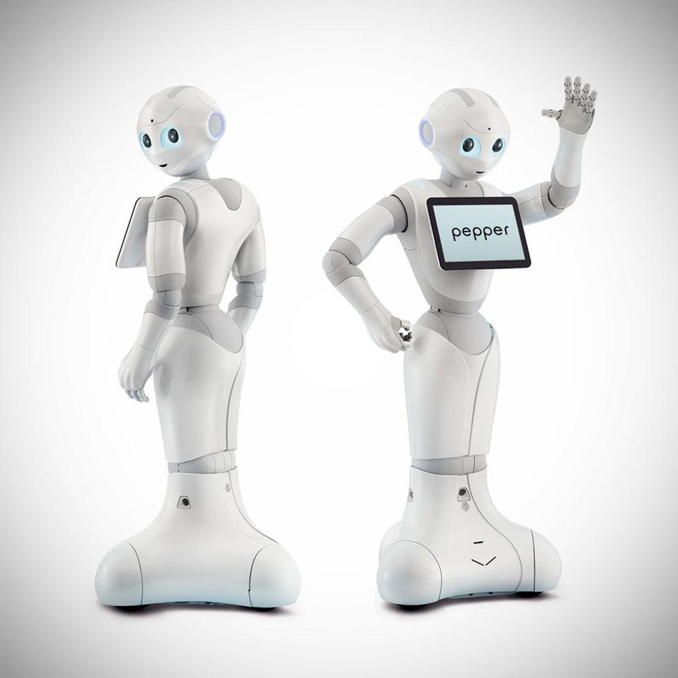 Fyllo blev arg i telebutik, sparkade ner oskyldig robot
