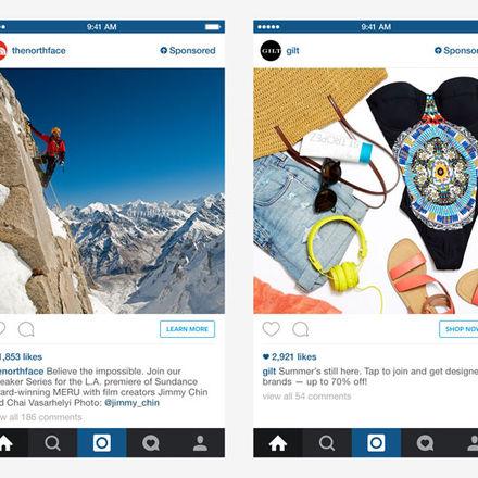 Nu borjar instagram med reklam