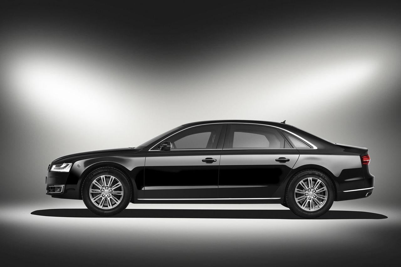 Audi A8 L Security blir ännu säkrare