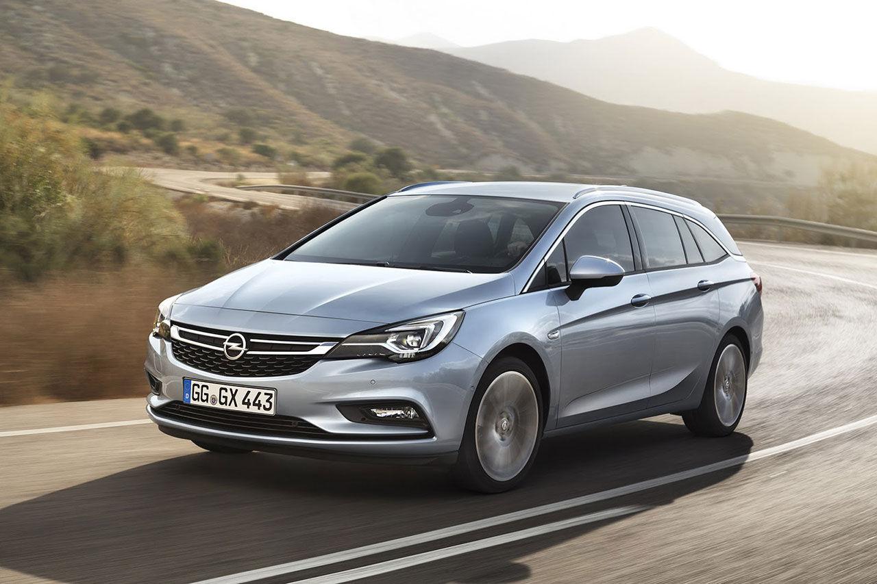 Nya Opel Astra i kombiutförande