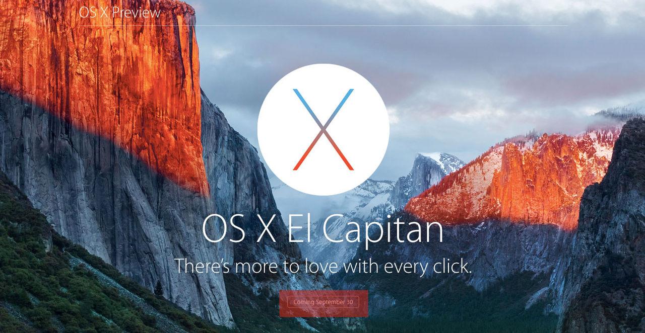 OS X Capitan landar på våra datorer i slutet av den här månaden