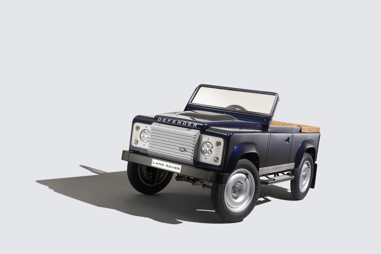 En Land Rover Defender för de allra minsta