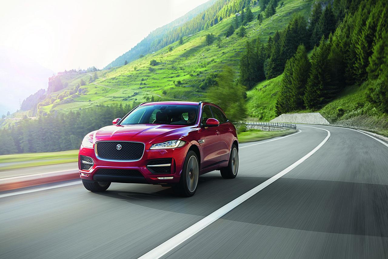Jaguars första suv är här