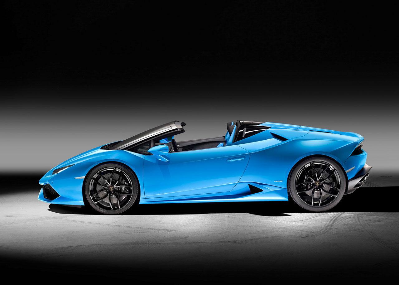 Lamborghini Huracán med tygtak presenterad