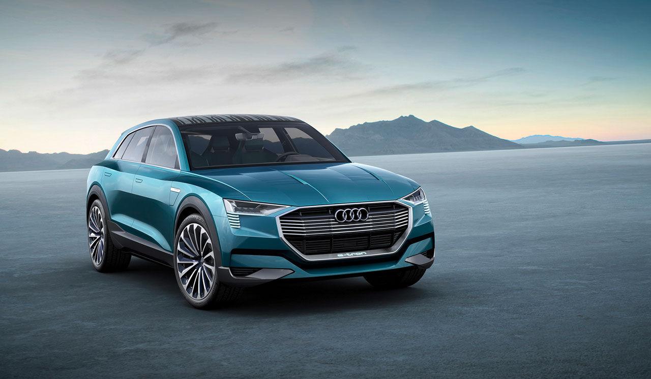 Audi e-tron quattro concept officiell
