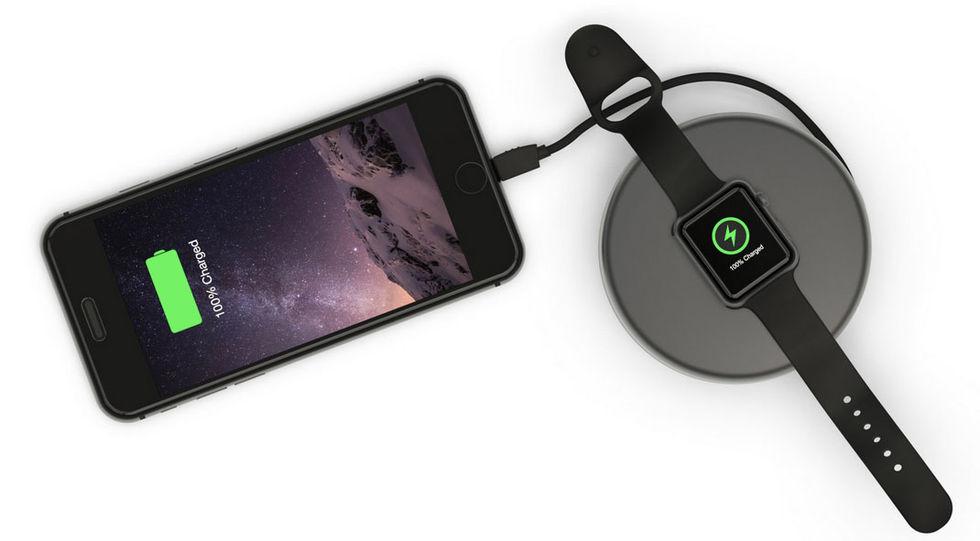 Pod Pro - portabel batteriladdare för iPhone och iWatch
