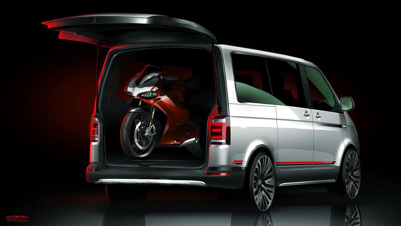 Volkswagen Multivan för hojtransport