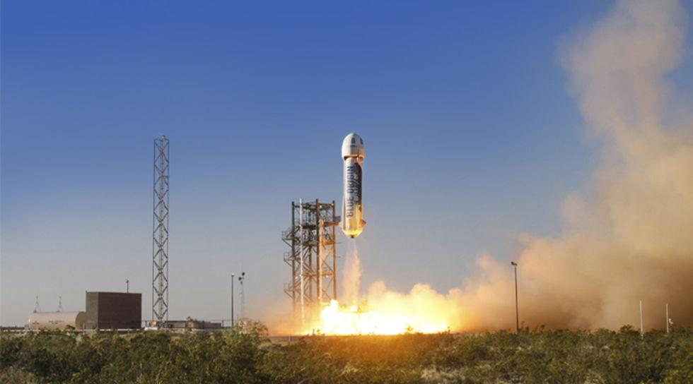 Blue Origin flytter in på Cape Canaveral