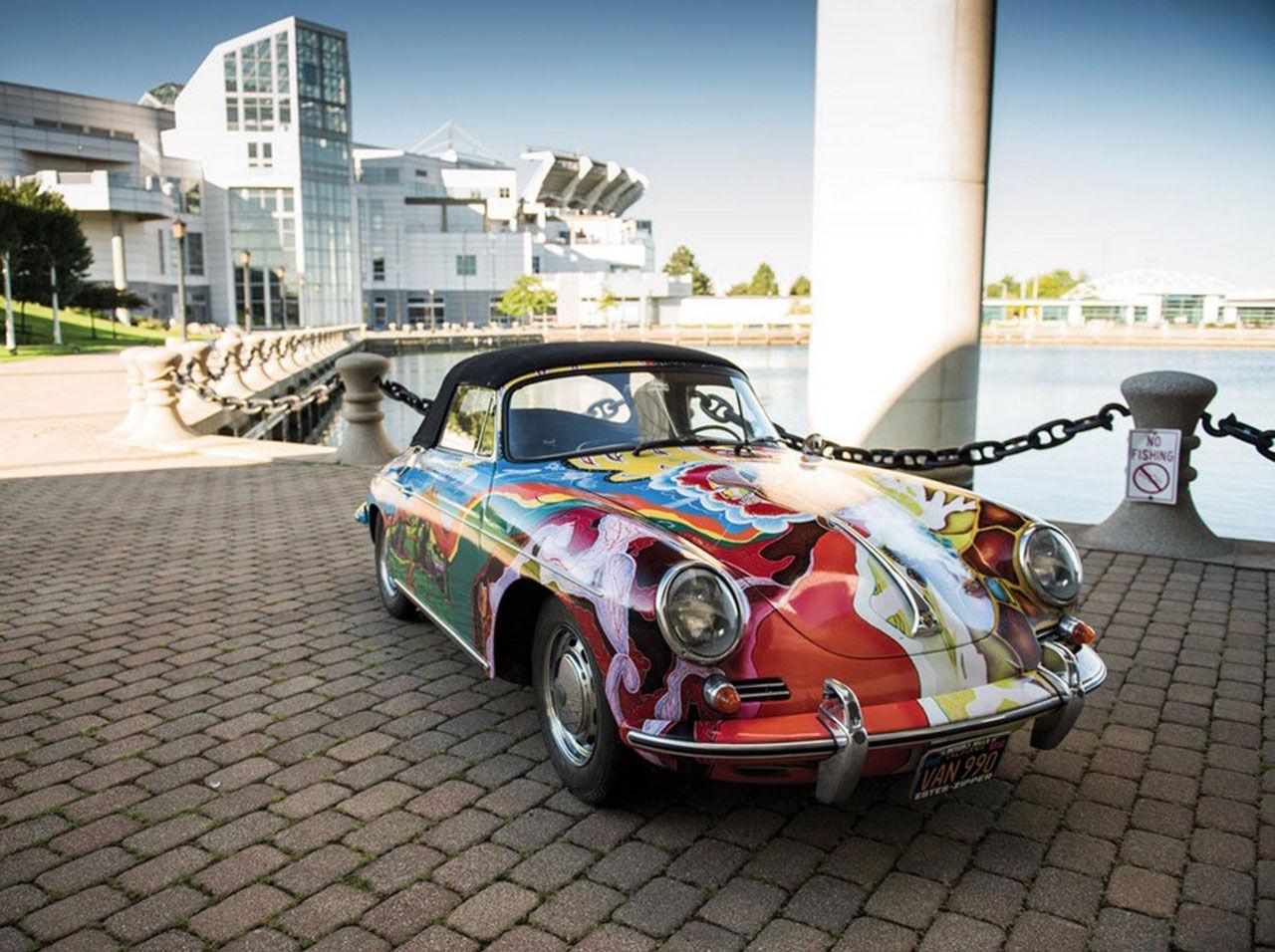 Janis Joplins Porsche 356 C är till salu