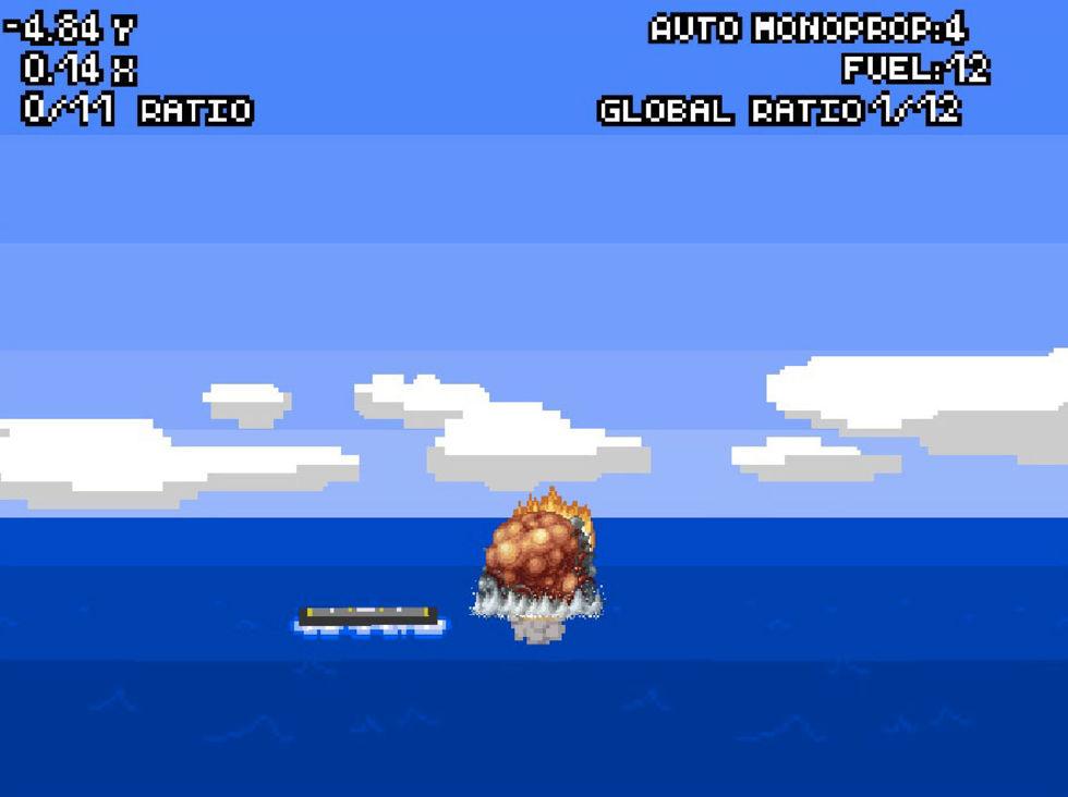 Nu kan du själv försöka landa en Falcon 9-raket på en pråm
