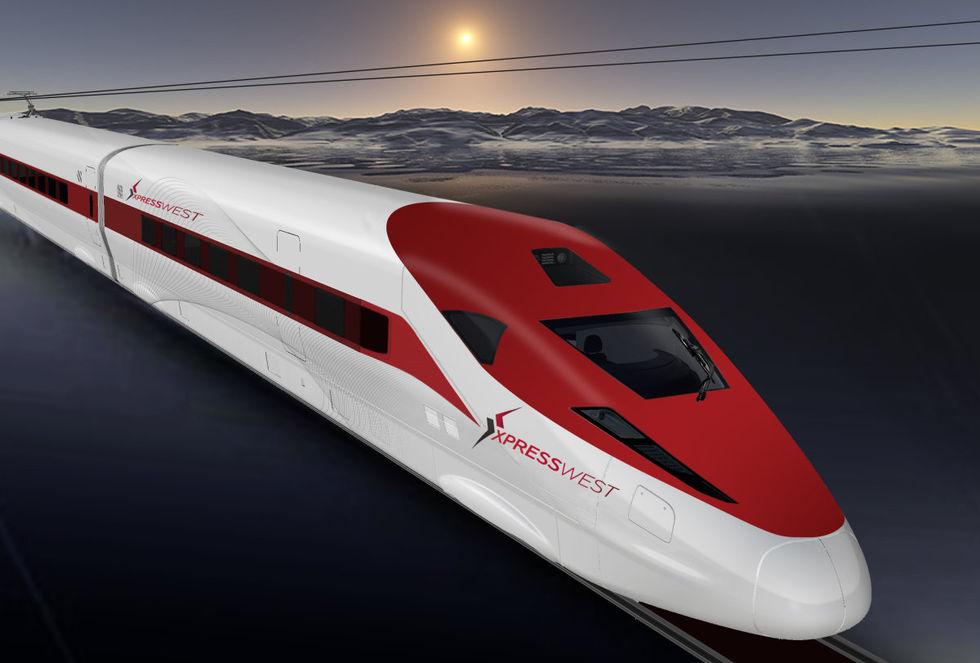 Höghastighetsjärnväg byggs mellan Vegas och LA