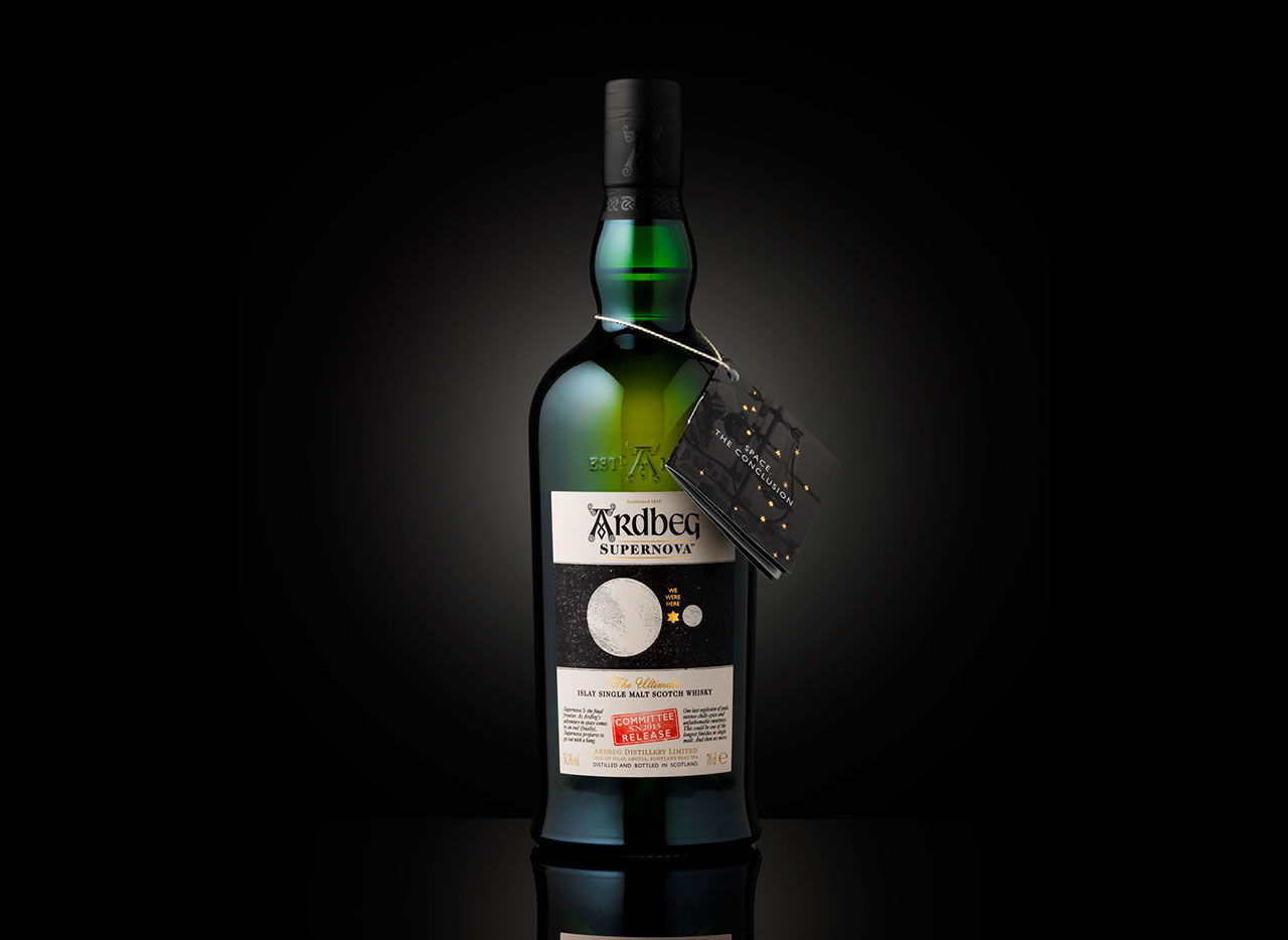 Ardbegs sista rymdwhisky