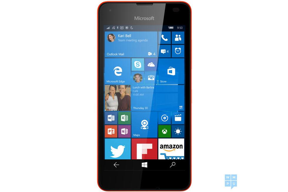 Microsoft Lumia 550 läcker