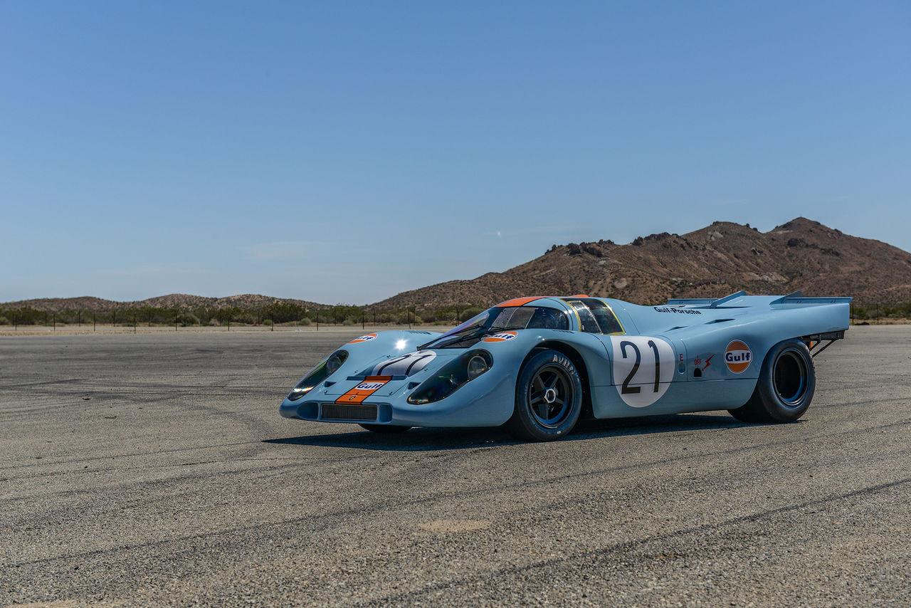 Porsche 917K återvänder till racerbanan