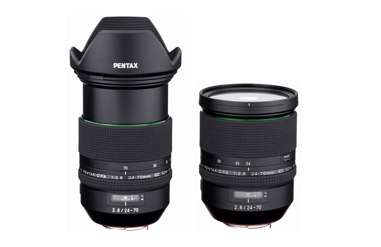 Ricoh presenterar normalzoom för Pentax fullformatskamera