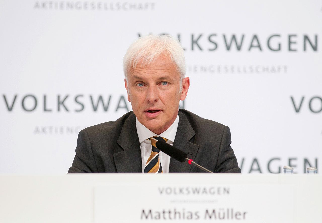 Matthias Müller blir ny vd för Volkswagen-koncernen
