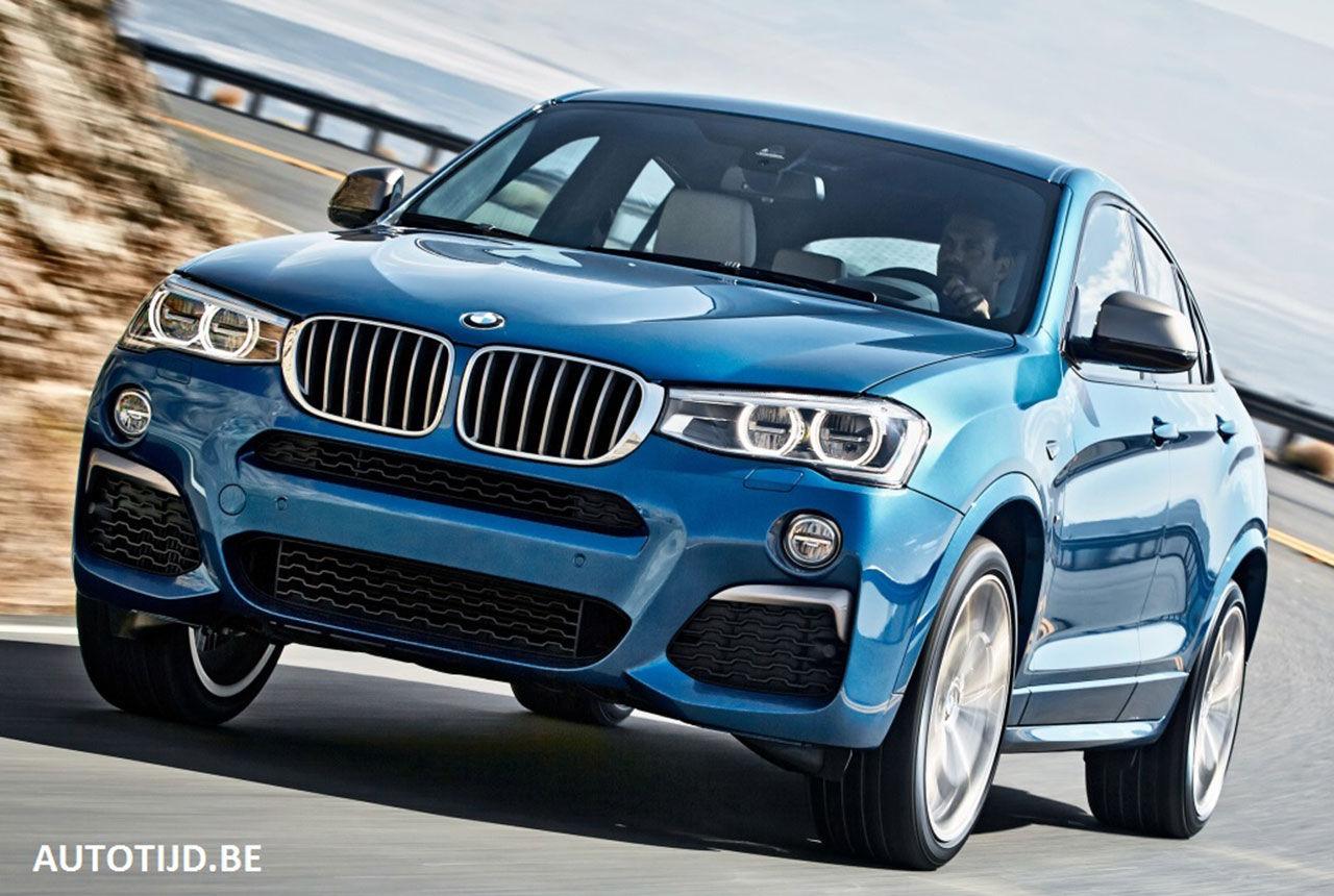 BMW X4 M40i läcker ut