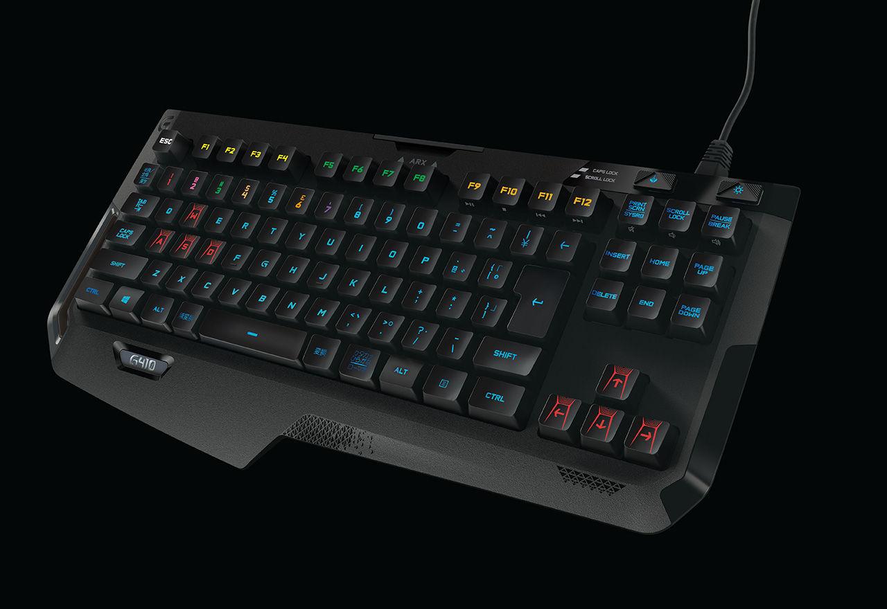 Logitech visar upp nya tangentbordet G410 Atlas Spectrum