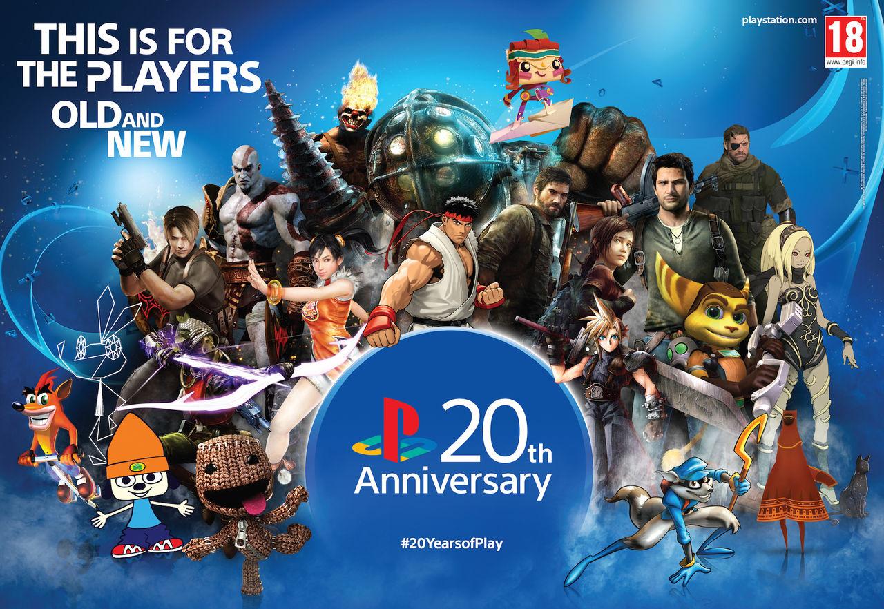 20 år sedan PlayStation släpptes i Europa