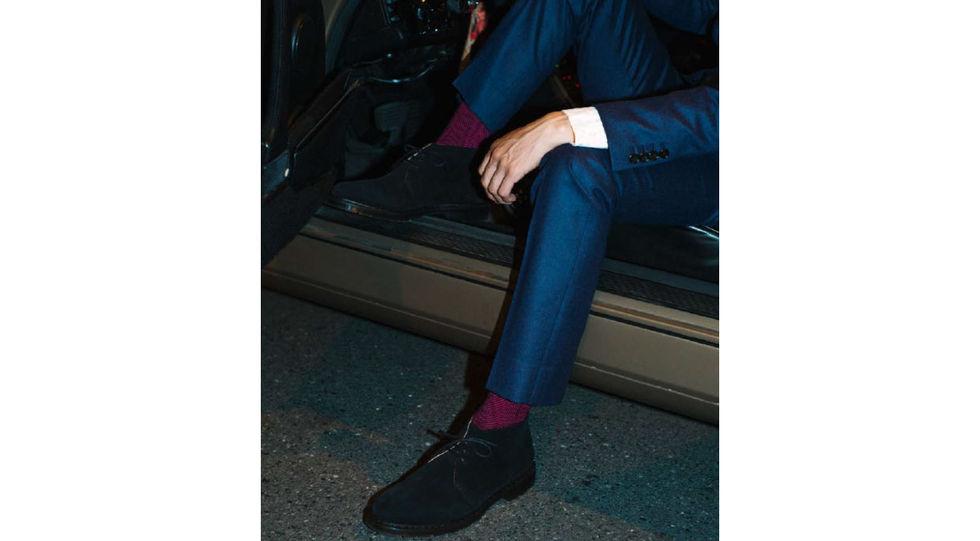 Dressade strumpor från Happy Socks