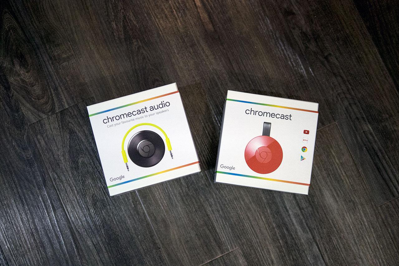 Unboxing av nya Chromecast och Chromecast Audio