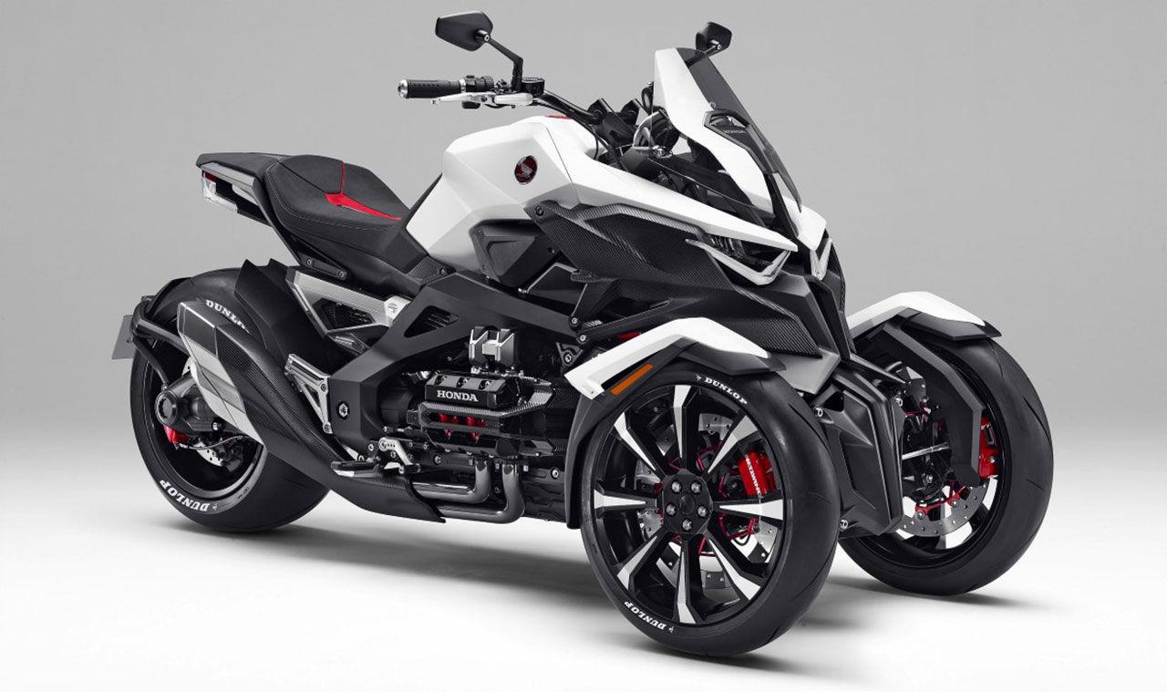 Honda visar upp en trehjuling