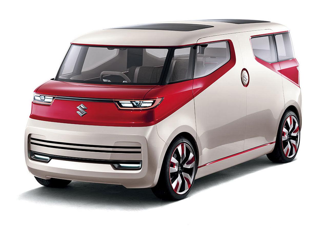Suzuki utmanar den moderna Folkabussen