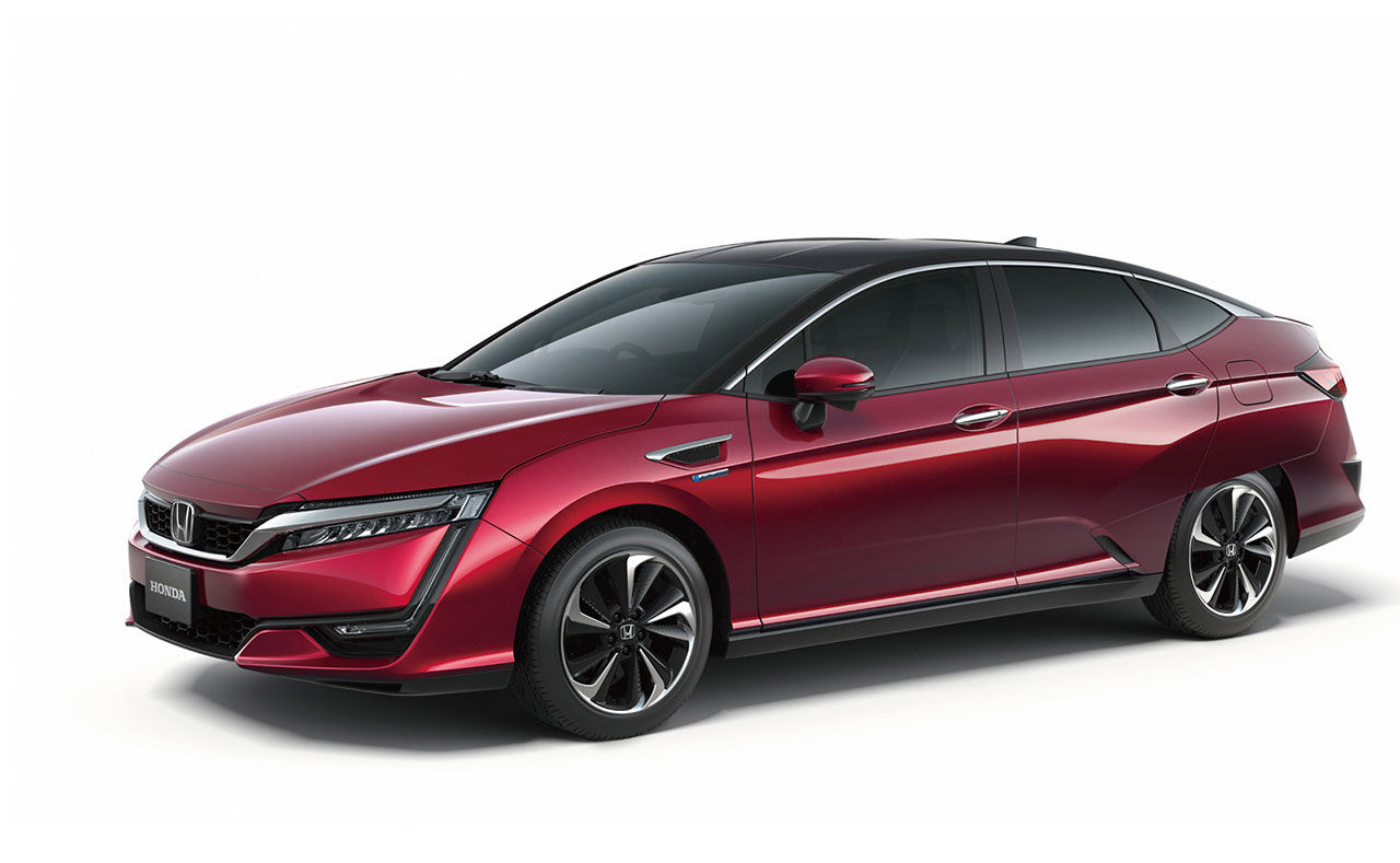 En titt på Hondas nya bränslecellsbil FCV