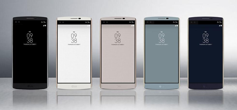 LG har visat upp V10