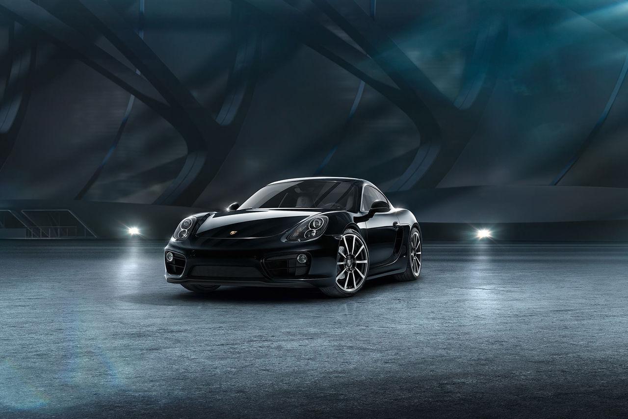 Black Edition nu även till Porsche cayman