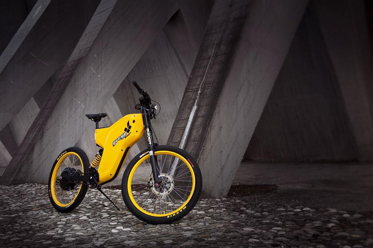 Rimac visar ny version av elcykeln Greyp G12