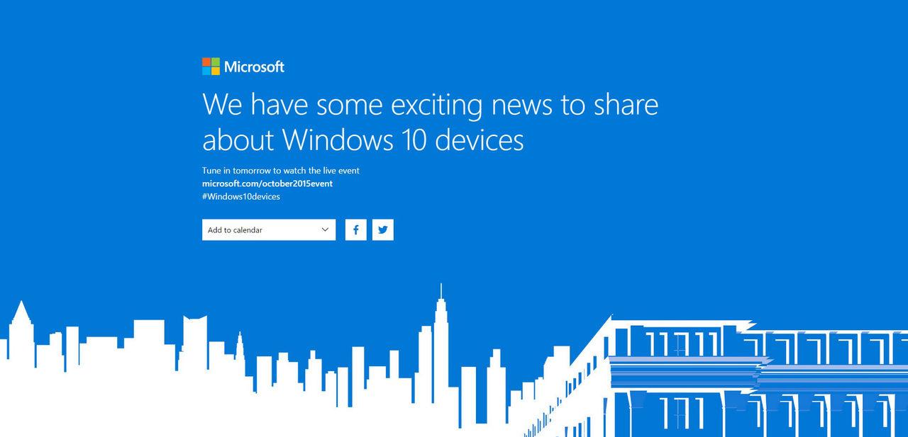 Microsoft håller låda idag