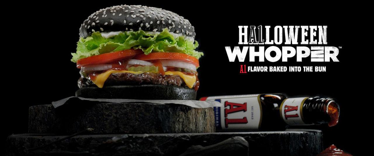 Burger Kings svarta burgare gör din avföring grön
