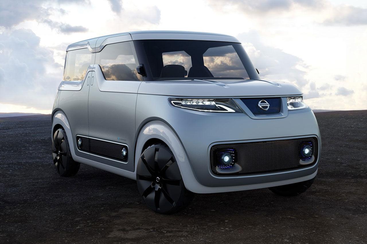 Poppig konceptbil från Nissan för den digitala generationen